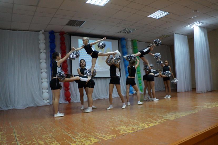 Наши гимнастки!